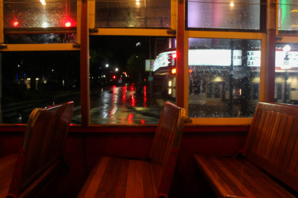 Tren en Canal Street